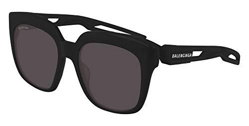 Balenciaga Sonnenbrillen BB0025S Black/Grey Unisex