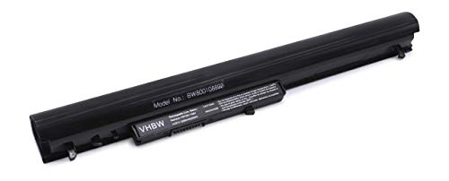 vhbw Batterie Compatible avec HP 248 G1, 350 G1, TPN-Q129, TPN-Q130, TPN-Q131, TPN-Q132 Laptop (2200mAh, 14,8V, Li-ION, Noir)