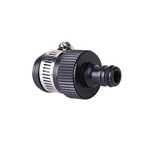 Urisgo - Conector para grifo, mezclador adaptador grifo accesorios de conversión para boquilla del empalme del tubo flexible