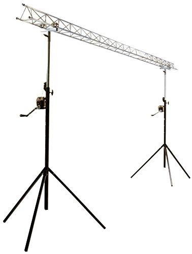 Draagbaar licht voor kabellier, 4 m (nieuw).