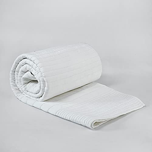 vLiving Gesteppte Tagesdecke aus gestepptem Baumwollsatin