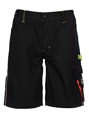 Prisma - Herren Shorts/kurzen Arbeitshosen - für den Sommer Schwarz EU56