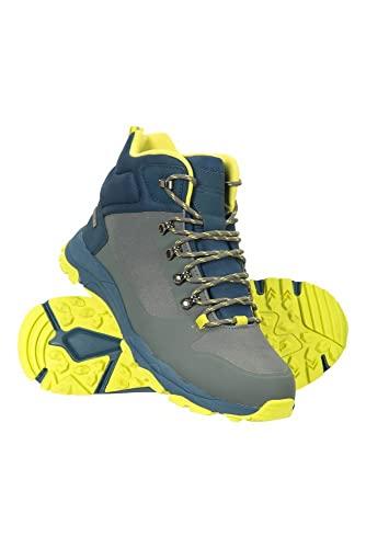 Mountain Warehouse Karakoram Botas de Senderismo Impermeables para Hombre - Calzado Ligero de Phylon Transpirable y antidesgarros - para Deporte, Exterior y Trekking Gris 41
