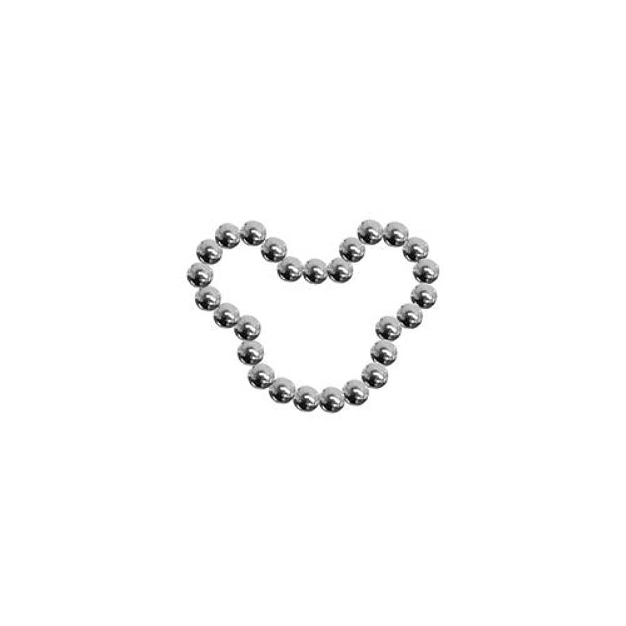 満たす織る悲しいプリティーネイル ネイルアートパーツ ブリオンベアS シルバー 15個