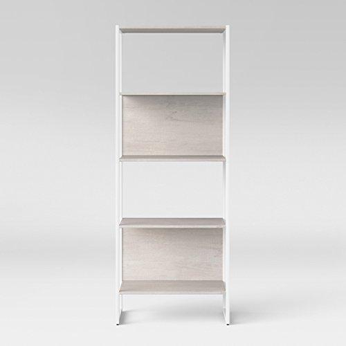 66.4u0022 Paulo 4 Shelf Bookshelf White - Project 62™