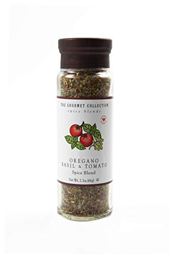 The Gourmet Collection Spice Blends - Mezcla de Especias - Orégano, Tomate y Albahaca