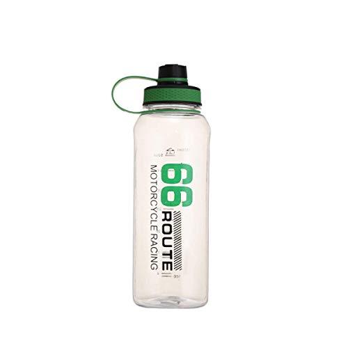 Botella Deportiva, Botella De Viaje De Gran Capacidad De 1500 Ml, Taza Portátil para Deportes Al Aire Libre De Verano, Taza De Agua De Plástico Transparente