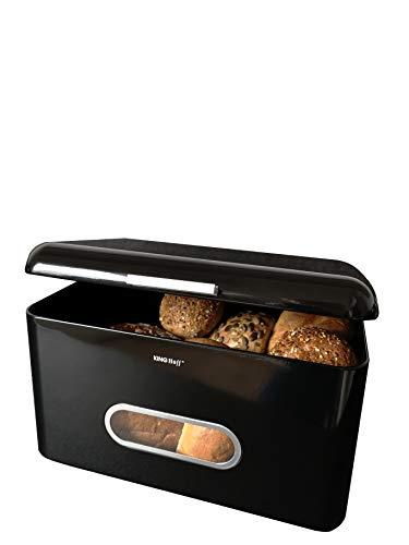 Wallfire Panera cocina pasteles y galletas azul contenedor de metal de gran capacidad organizador de almacenamiento de alimentos para panes multifunci/ón