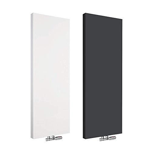 Design Vertikal Planheizkörper Flachheizkörper Schäfer ® Typ 20 (600 x 1800 mm, Weiß)