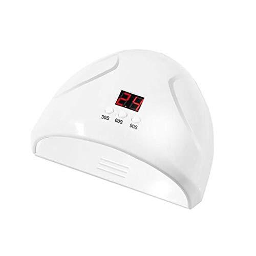 Fontsime ネイル光線療法機 12LED 36 ワットインテリジェント誘導 Led 紫外線ネイルランプ高速焙煎乾燥マニキュア接着剤ネイルランプ白