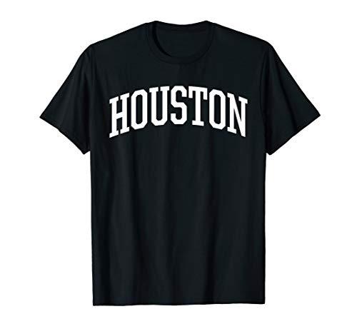Houston T-Shirt / Houston Sports College-Style T