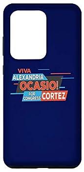 Galaxy S20 Ultra AOC Shirt Viva Ocasio Cortez Latina Gift Case