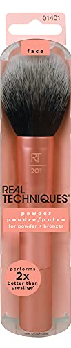 Real Techniques Powder & Bronzer Brush, Helps Build Smooth Even Coverage