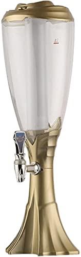MU Bierturm, Bierfass Spender Mit Laterne Perfekt Für Partys Amp; Gameday Home Bar Zubehör Bier Tower Drink Spender,1,5L.