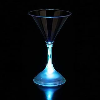 Fun Central I478 LED Light Up Martini Glass - 7 oz.