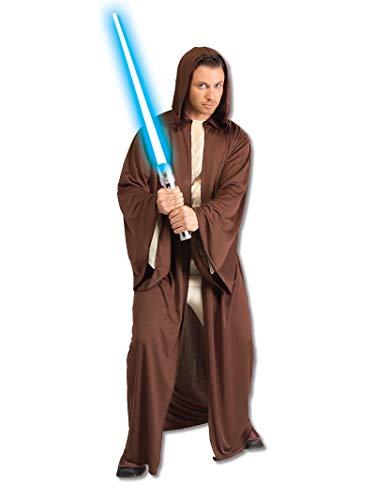 Rubie's Disfraz de Star Wars con capucha para adulto, Star Wars Jedi Knight Robe, Como se muestra, XXL