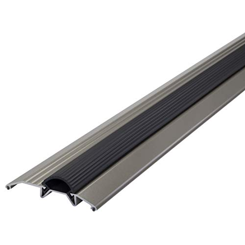 M-D Building Products 49004 M-D Deluxe Low Premium Threshold with Vinyl Seal, 36 in L X 3-3/4 in W X 3/4 in H
