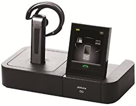 Jabra GO 6470 Bluetooth Headset with Touchscreen for Deskphone, Softphone & Mobile Phone