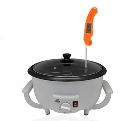 Piccola macchina per la torrefazione domestica Macchina automatica per semi di melone fritto Riscaldatore per chicchi di sesamo saltato in padella Macchina per tostare i chicchi di caffè al peperoncin