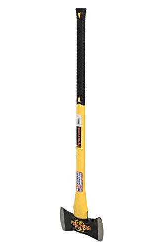 Structron 41522 AX-DB3FG 3.5 lb. Michigan Double Bit Axe with 36' Yellow Fiberglass Handle