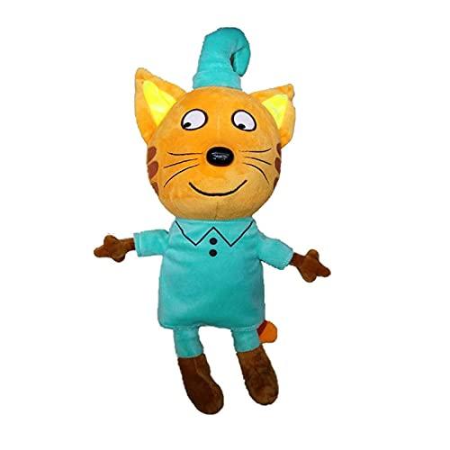 Peluches Regalos De 18cm Gatitos De Dibujos Animados Rusos Gato Peluches De Peluche Animales Suaves Muñeca De Juguete De Gato para Niños