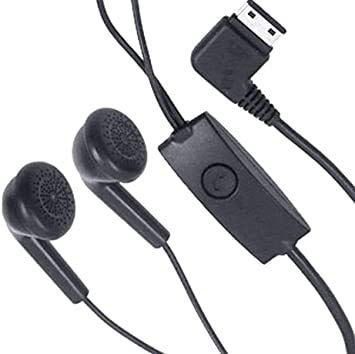 Samsung AAEP485 Kopfhörer / Stereo-Headset für Samsung B2100 Solid Extreme, E1120, f480 Tocco, Schwarz