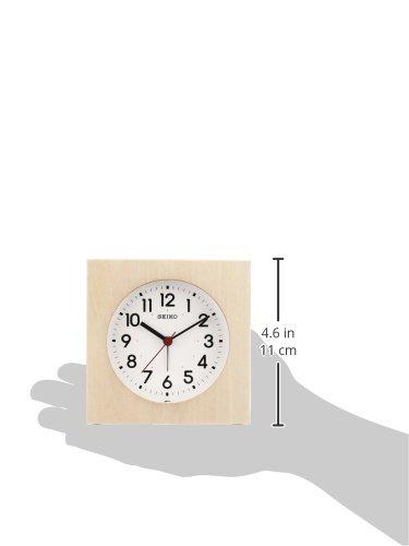 セイコークロック『木の目ざまし時計』