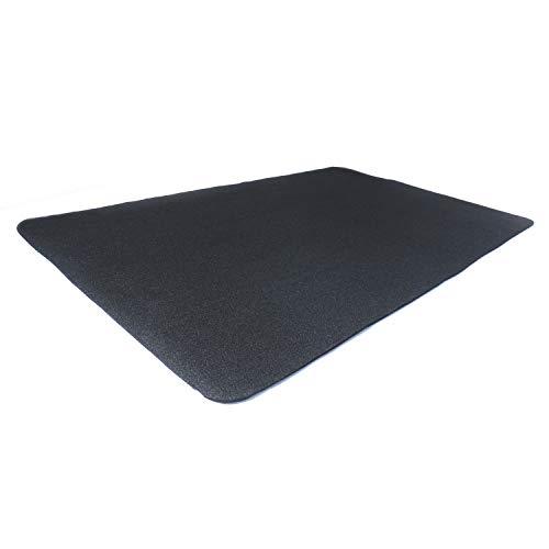 "Diversitech Outdoor Gas Grill BBQ Floor Mat 48"" x 30"" - Absorbant Protection for Decks & Patios, Black"