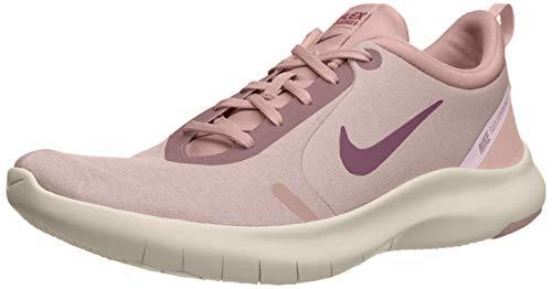 Nike Women's Flex Experience Rn 8 Plum Chalk/True Berry Ankle-High Running - 6.5M