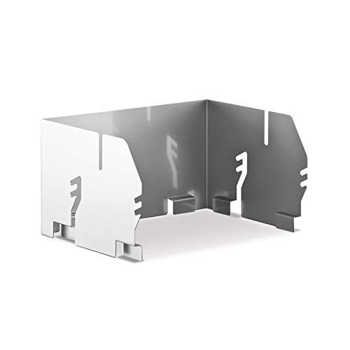 THÜROS Aufsatz-Windansteckblech für THÜROS T2 Grillfläche 35x35 cm