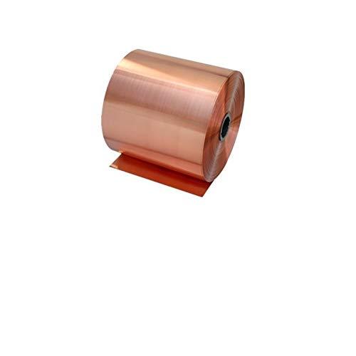 Kupferstreifen, Kupferplatte, Kupferfolie, halbhart, 0,1 mm, 0,2 mm, 0,3 mm, 0,5 mm, 0,8 mm, 1 mm, 0.3mm200mm1m