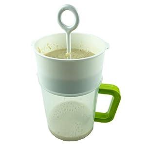 Multiple Usage Food Strainer, Nut Milk Bag Replacement, Yogurt Strainer, Food Grade Polycarbonate And Stainless Steel… |