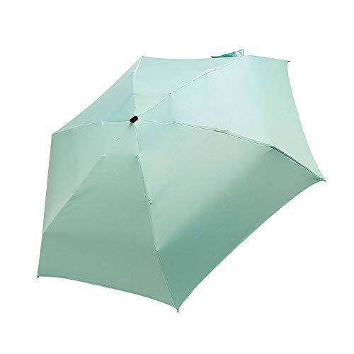 XYQ zon paraplu vrouwelijke platte lichtgewicht paraplu vouwen zon paraplu mini paraplu kleine trompet gemakkelijk opslag paraplu