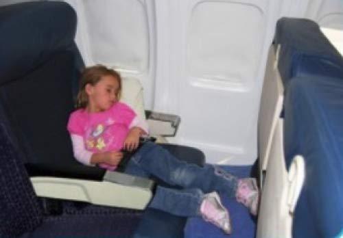 Fly Legsup FLU_001 Flugzeug Kinderbett (0-9 Jahre), blau