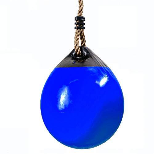 HGDD Columpio Infantil Columpio Inflable para niños, Asiento de Swing al Aire Libre, fácil Instalar para Juego de Swing, Patio Trasero, Parque Infantil, Sala de Juegos (Color : Blue)