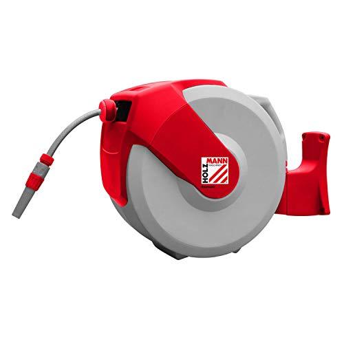HOLZMANN MASCHINEN WSR20PRO 9.5mm 1/2 Zoll 20m Rot, Grau Gartenschlauchaufroller