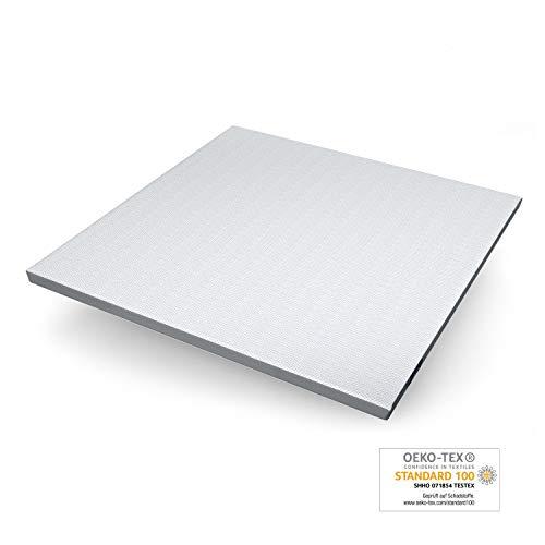 Genius Eazzzy Topper (200 x 200 x 7 cm) als Matratzenauflage für Matratzen & Boxspringbetten | Viskoelastischer Matratzentopper für Allergiker (weitere Größen erhältlich)