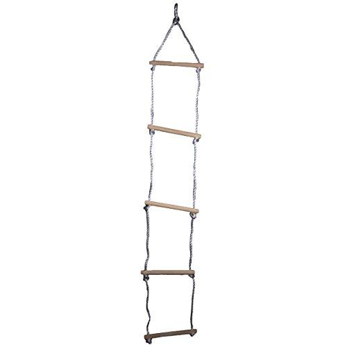 espalderas Escalera escalera de punto con 5peldaños de madera aprox. 190cm