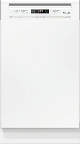 Miele G4700 SCU D BW230 2,1 Unterbaugeschirrspüler/A+ / 221 kWh/Jahr / 9 MGD / 2436 Liter/Jahr/Frischwasserspüler ab 6,5 Liter Wasserverbrauch/Perfect GlassCare/brillantweiß