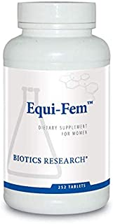 Biotics Research Equi-Fem™- Multi-Vitamin/Mineral Supplement for Women. High Dose Multi for Pre-Menstrual Support. Black Cohosh. Dong Quai. Digestive Enzyme Support (252)