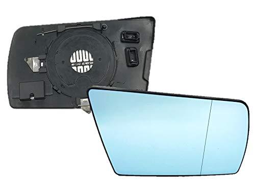 Spiegelglas Spiegel Außenspiegel Glas Rechts Blau Asphärisch C E S W202 W210