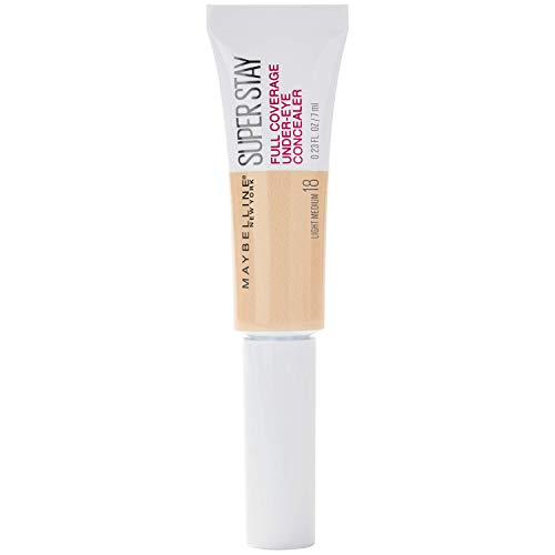 Maybelline New York Super Stay Under-Eye Concealer, 18 Light Medium, 6 ml