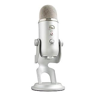 Blue Yeti USB Microphone - Silver Edition by Blue Microphones (B002VA464S) | Amazon price tracker / tracking, Amazon price history charts, Amazon price watches, Amazon price drop alerts