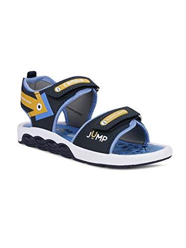 Campus Kids DRS-04 BLU-MSTD Outdoor Sandals -1 UK/India