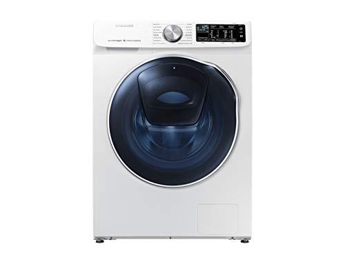 Samsung WD10N645R2W/ET lavadora Carga frontal Independiente Blanco A - Lavadora-secadora (Carga frontal, Independiente, Blanco, Izquierda, Giratorio, Tocar, LED)