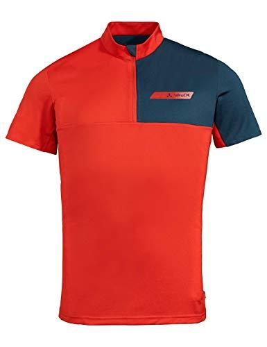 Preisvergleich Produktbild Vaude Herren T-shirt Men's Scopi Qzip T-Shirt,  Mars Red,  XXL,  41944