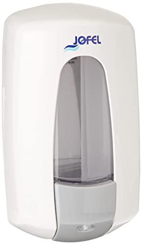 Dispensador de jabón recargable Aitana de plástico Bunzl AC70000, blanco
