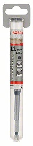 Bosch 2608585698 Auger Drill Bit, Hex Shank, 11mm x 100mm x 160mm, Black/Silver