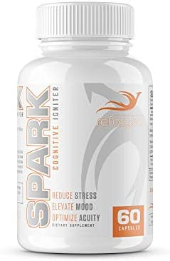 Reforged Spark Wellness Formula For Stress Relief Fatigue Reduction And Mood Adrenal Support product image