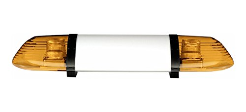 HELLA 9EL 861 498-001 Lichtscheibe für Dachbalken-Warn-System, Einbau hinten/mitte